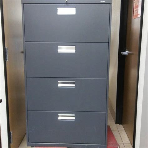 hon horizontal file cabinet hon 4 drawer lateral file cabinet used