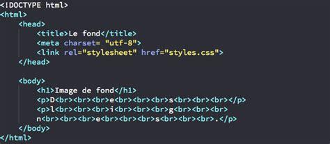 Background Attachment Css Afficher Une Image De Fond En Css
