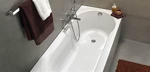 hoekbad met douchegedeelte