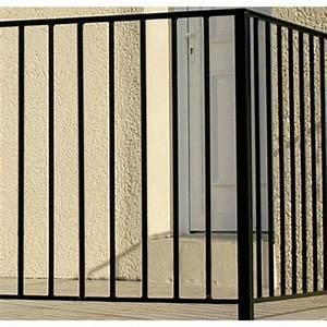 Garde Corps Exterieur Leroy Merlin : garde corps pour balcon en fer pr peint levant haut 97cm ~ Dailycaller-alerts.com Idées de Décoration
