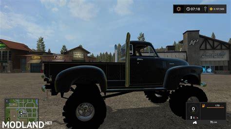 chevy  pickup truck   mod farming simulator