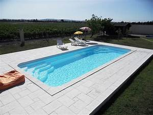 Piscine rectangulaire La piscine coque rectangle