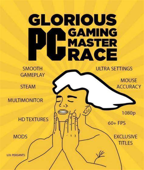 Pc Master Race Meme - memes and comics