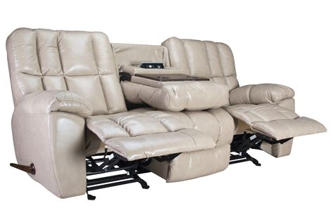reclining sofa with drop down table toronto gliding reclining sofa with drop down table at