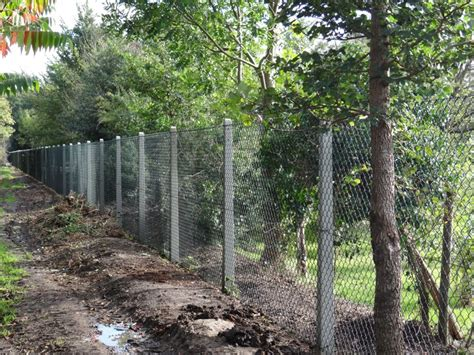 Concrete Chain Link Fence Posts