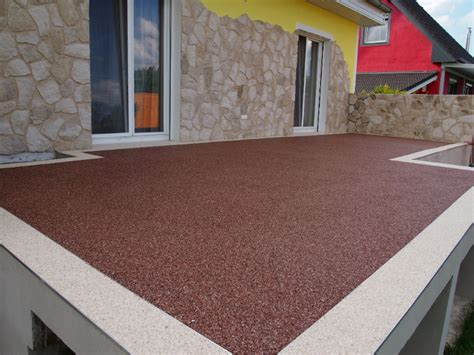 Bodenbeläge Für Terrassen steinteppich bodenbelag ideal f 252 r die