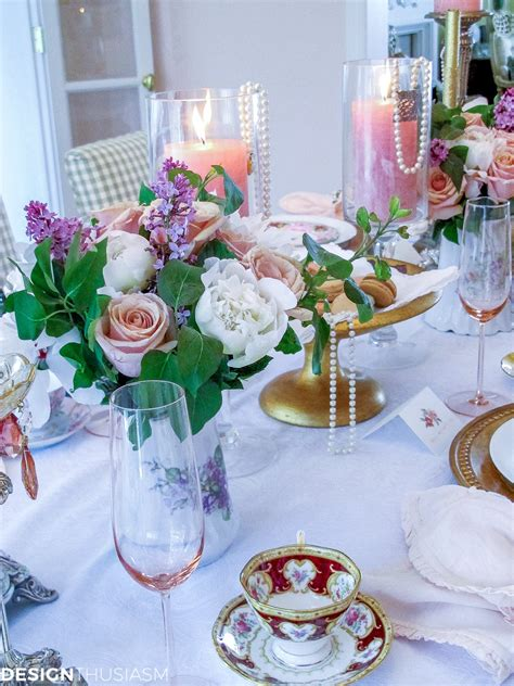 S Day Decorating Ideas by S Day Decoration Ideas A Vintage Brunch Table Setting