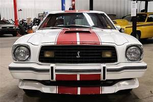 1977 Ford Mustang 56726 Miles White Coupe 302 V8 Manual