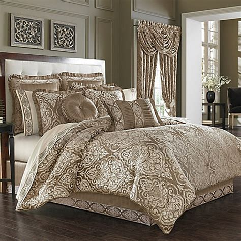 j new york comforter j new york stafford comforter set in mocha bed