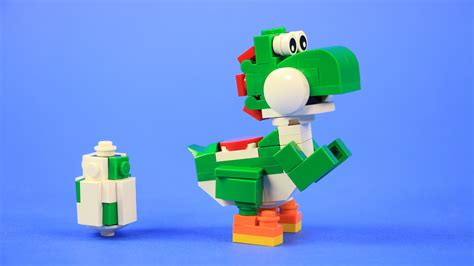 Build Your Own Lego Yoshi, Baby Mario & Yoshi Eggs