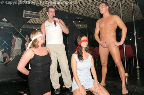 blindfold sex party
