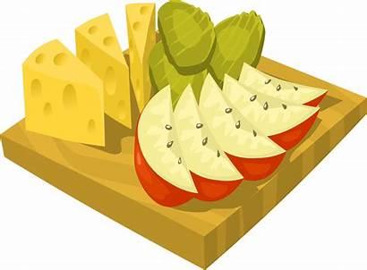 Snack Snacks Clipart Clip Healthy Cartoon Cliparts