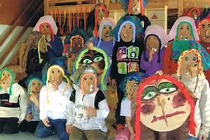Thema Märchen Im Kindergarten Basteln : hexenmaske basteln kinderspiele ~ Frokenaadalensverden.com Haus und Dekorationen
