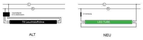 leuchtstoffröhre mit led led leuchtstoffr 246 hre vorschaltger 228 t entfernen rulmeca germany