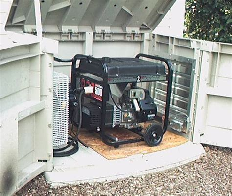 metal portable generator sheds generators on sheds screen enclosures and
