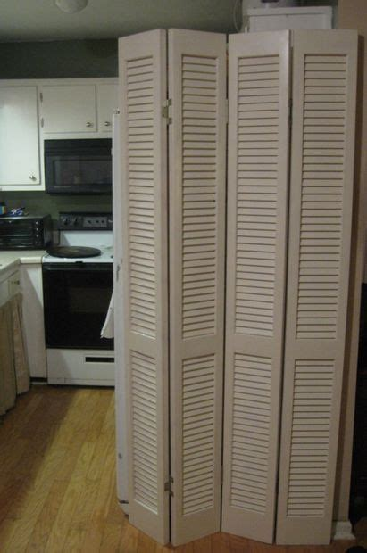 room divider from louvered bi fold doors