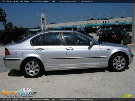 2003 Bmw 325xi by 2003 Bmw 3 Series 325xi Sedan Titanium Silver Metallic