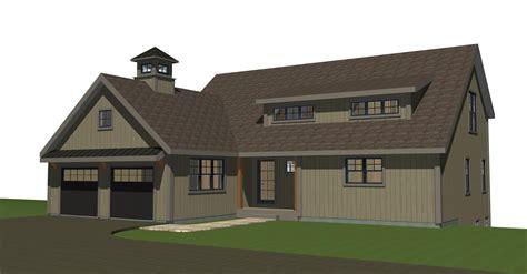 small barn house  ybh home plans