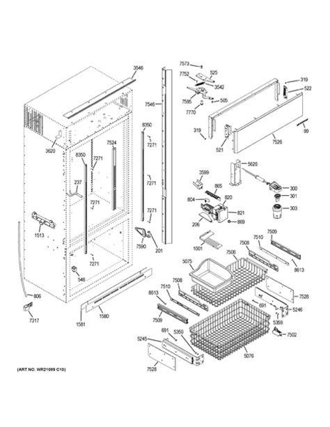 ge zicsnhdrh parts list coast appliance parts