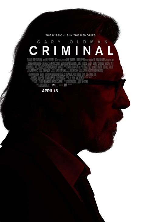 Criminal (2016) Poster #1  Trailer Addict