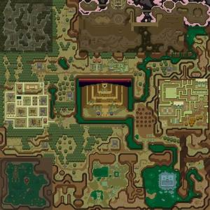Zelda A Link To The Past Maps