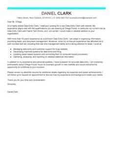 data entry clerk resume cover letter best data entry clerk cover letter exles livecareer