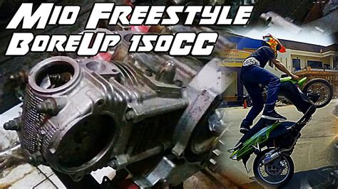 Mio Sporty Bore Up 150cc by Bore Up Mesin Mio Untuk Freestyle 150cc