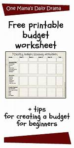 Daily Spending Tracker Spreadsheet Printable Monthly Budget Worksheet Printable Budget