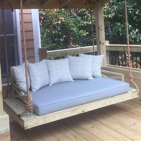 porch swing with cushions custom outdoor glider porch swing cushion outdoor
