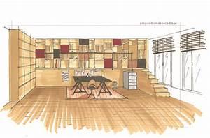 comment dessiner un plan de maison en perspective auto With apprendre a dessiner une maison