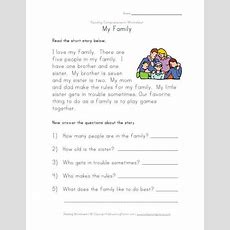 Reading And Comprehension Worksheets #2  To Be Printed  Pinterest  Reading, Reading