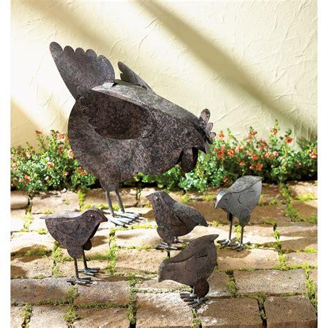 metal chicken sculptures wholesale  koehler home decor