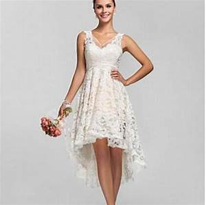 lace high low a line vintage wedding dresses uniqisticcom With high low vintage wedding dresses
