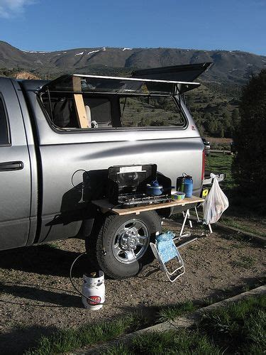 amazing simple legless camp table setup expedition portal  fun truck camping camping