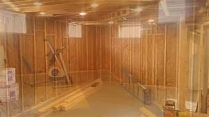 Basement Framing  U0026 Drywall