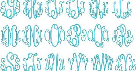 suzanne curlz single   letter monograms apex