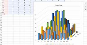 Advanced Graphs Using Excel   3d