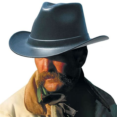 The Outlaw Cowboy Hard Hat   The Green Head