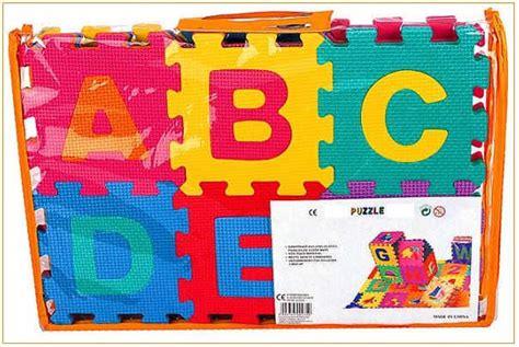 tapis mousse puzzle trendyyy