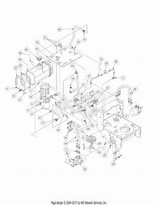 Mtd 1436h  55ae331r195 Parts Diagram For Hydro Pump Assembly