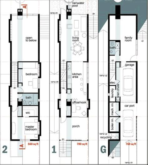 narrow house designs house plans and home designs free archive narrow