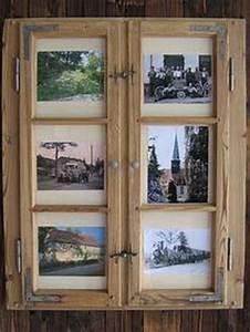 Alte Fensterrahmen Gestalten : bilderrahmen aus sprossenfenster haus pinterest ~ Lizthompson.info Haus und Dekorationen