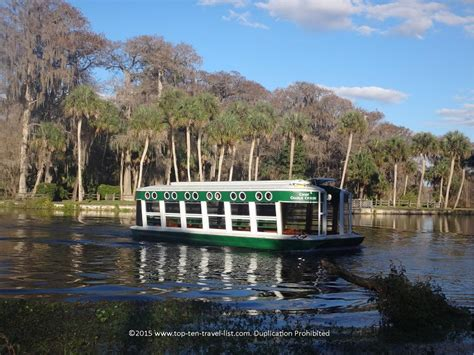 Silver Springs Glass Bottom Boat by 17 Things To Do In Orlando Besides Theme Parks Page