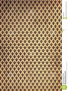Vintage Fleur De Lys Wallpaper Stock Photo Image 27835570