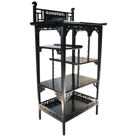 rack kitchen cabinet aesthetic movement ebonised 201 tag 232 re in the manner of e w 1710