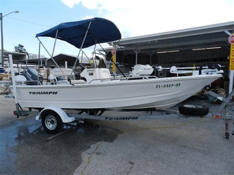 Triumph Boats Florida by Triumph Boats For Sale In Leesburg Florida