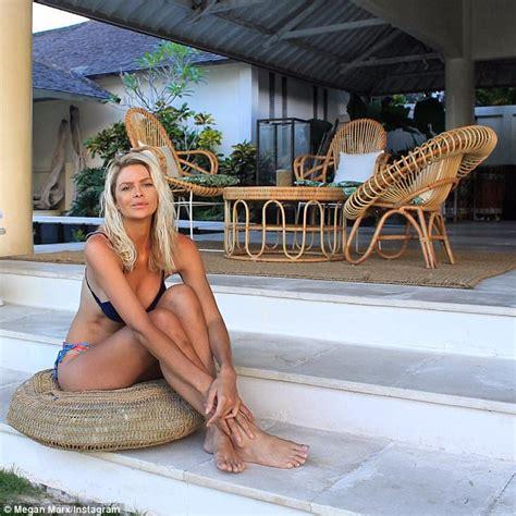 The Bachelor's Megan Marx showcases bikini body in Bali