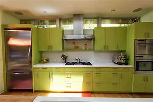 Modern green kitchen cabinets outdoor furniture ideas for Best brand of paint for kitchen cabinets with noel wall art