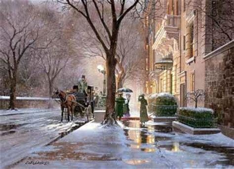 christmas oil paintings  winter scene oil paintings wholesaleartsframes