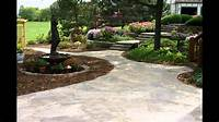 Patio Designs Stone Patio Designs | Patio Stone Designs | Stone Patio Designs Pictures - YouTube